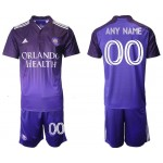 2021-22 Orlando City SC Any Name Home Purple Soccer Jersey (Name and number remark in comment column)