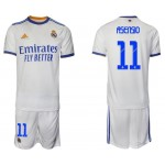 21-22 Real Madrid #11 Marco Asensio White Home Soccer