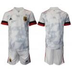 2020-21 European Cup Belgium Gray Jersey