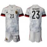 2020-21 European Cup Belgium Batshuayi #23 Gray Jersey