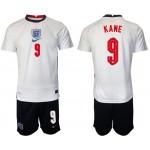 2020 European Cup England #9 Harry Kane White Home Jersey
