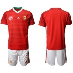 2020 European Cup Hungary Red Jersey