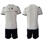 2020-21 European Cup Italy White Away Jersey