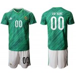 2020 European Cup Northern Ireland any name Green Jersey