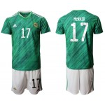 2020 European Cup Northern Ireland McNair #17 Green Jersey