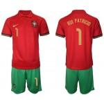2020 European Cup Portugal #1 Rui Patricio Red Home Jersey