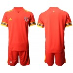 2020 European Cup Wales Red Jersey