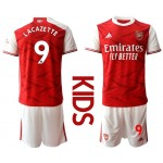 20-21 Youth Arsenal #9 Alexandre Lacazette Red Home Soccer Jersey