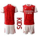 20-21 Youth Arsenal Blank Red Home Soccer Jersey