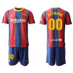 20-21 Barcelona Any Name Red jersey