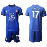 20-21 Chelsea #17 Mateo Kovacic Blue Home Soccer Jersey
