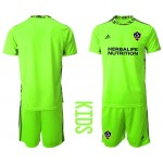 20-21 Los Angeles Galaxy sky Green Jersey
