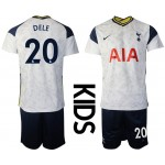 20-21 Youth Tottenham Hotspur #20 Dele White Home Soccer Jersey