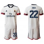 20-21 Real Madrid #22 Isco White Home Soccer Jersey