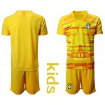20-21 Brazil Yellow Kids Jersey
