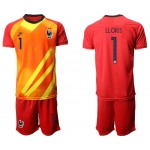 20-21 France Lloris #1 Red Jersey
