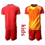 20-21 France Red Kids Jersey