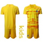 20-21 France yellow Kids Jersey