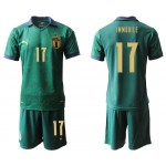 20-21 Italy Immobile #17 Green Jersey