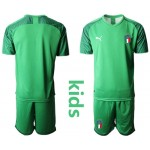 20-21 Italy Green Kids Jersey