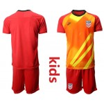 20-21 United States Red Kids Jersey