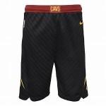 Nike Men's Cleveland Cavaliers Black Swingman Basketball Shorts